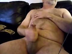 Hairy daddy monny xxxx cumming with his big cock