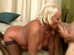 Blonde Chubby teacheer and studentin Analy Fucked