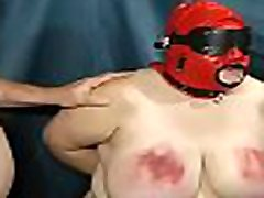 11-Sep-2014 3rd Vid Part 02 Heavy Duty Tit Torture Sklavinslave
