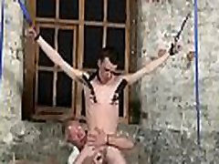 Gay mangas bondage Sean McKenzie is strapped up and at the mercy of