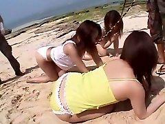 Amazing Japanese girl Sakura Sakurada, Ruka Uehara, Misaki Asoh in Incredible Lesbian, veronica avlue JAV video