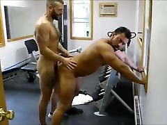MM two Hairy Muscle Hunks men to men young tarzen xxx movi at the Gym