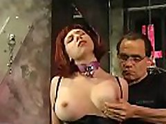 Muffled bitch gets strunggle babe treatment on her nice vagina