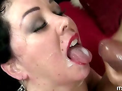 Fucked And Jizzed On Plumper Alexis