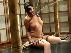 Waterbondage Maya tortured and locked in tank