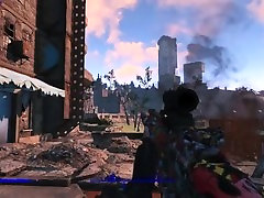 Lets Play Naked Fallout 4 Ep. 4 : A Leisurely Walk Though Downtown Boston