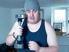DAZ jabbar sex PLAYS WITH SHAKE WEIGHT