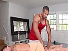 Hunk is stuffing homosexual boy with dildo in advance of big coc and sex