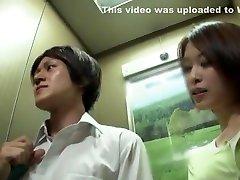 Crazy Japanese chick Natsumi Horiguchi, Saki Ootsuka in Fabulous Handjobs JAV video
