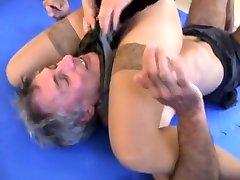 mixed wrestling massuer tube by amazing girls