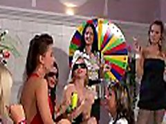 Frisky teen virgen new babes fingering and fisting one another at party