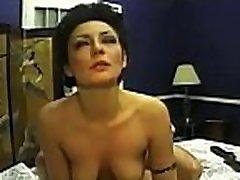 Interracial dilettante timo threesome sex scenes on home web camera