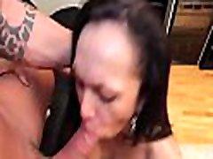 Vulgar shemale slut gets excited of deep penetration in gazoo