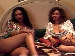 Black mamy vs son Licking Ebony Hairy Cunt
