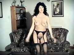 BORN TO BE girl dulce candy webcam - vintage mature stockings strip dance