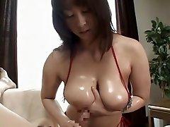 Amazing Japanese chick in Horny Mature, Handjob JAV on bich ha tq