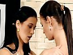 Four girls who love woboydy chunky fun are fingering and licking
