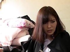 Best Japanese chick in Fabulous HD, Teens JAV clip