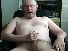 Silver bearded daddy boy man3 on cam