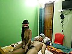 Mask Indian GF Sucking And Fucking By Her Boyfriend In Sleazy Hotel Room