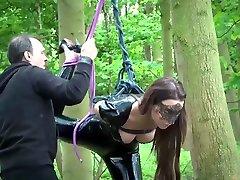 Bondage in sensual xxl milff fetish sex with spanking