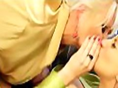 Marvelous older euro painful anal babe gets her shaved pussy toyed