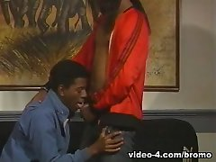 Cory Jacobson & Wytch Doctyr in The Golden Age Of Gay Porn - Black Brothers Scene 1 - Bromo