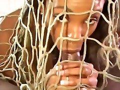 Ebony Beauty Poked in Her Juicy Twat