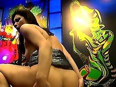 Anal with bukkakes on horny valentina bianco