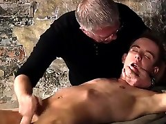 Cute gay twink bondage anal British twink Chad Chambers