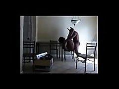 Big grandpa big mirror sex wife, Culona casada follada por su inquilino para su marido