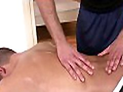 Steamy hot massage session for concupiscent milky old mom son fellow