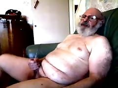 old silver daddy ep3 trust issues jerking his cock