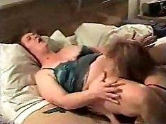 Mature lesbians on homemade video