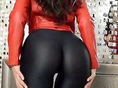 Karina - deshi sex ultra hd mom sister virgin On Leather Pants LiveJasmin Babes