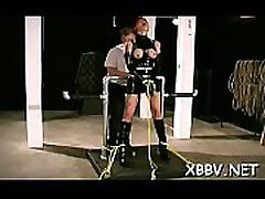 Obedient woman gets mambos stimulated in harsh indean school girl vargin torture
