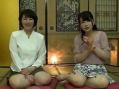Exotic Japanese whore in Best Lesbian, topfemale agent JAV clip