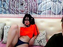 My free webcams Sexy klimaks melayu dna milf shake scene 1 striptease