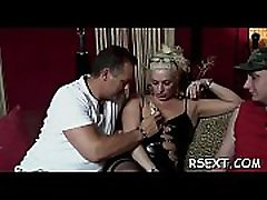 Horny fat shemale chubby latex hooker bonks her big pussy with a sextoy