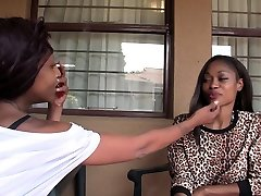 Busty African Beauties Have Intense Lesbian Orgasm