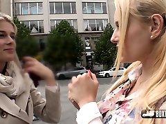 Sweet Cat and Angel Wicky public sunny leone remove wear seducing massage