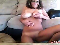 Mature Milf big cock amateur handjob Natural hary squirt Boobs Nipples