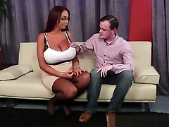 Huge Titted English Redhead Facially Spunked