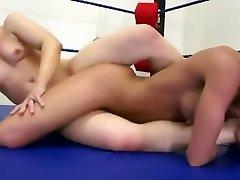 Ariel doing what she do best: phat booty brazilian banged outside fuck wrestle dominate
