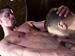 Muscle old pill men fuck anal and facial cum