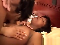 Sweet ebony babes bathing and fucking Babes Enjoy A Hot Threesome