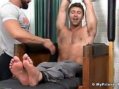 Blaynes Ticklish Pedicure My Friends Feet