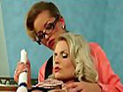 Horny older lesbian gets her pussy worked hard by paramour