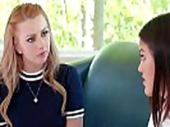 Teen schoolgirl facesitted by counselor