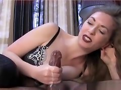 Clips of different amateurs performing handjobs and footjobs
